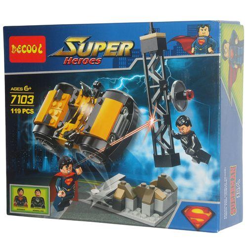 ساختني دكول سری super heroes مدل 7103