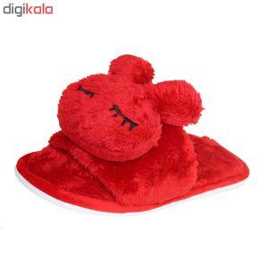 دمپایی بچه گانه کد 100.50 رنگ قرمز