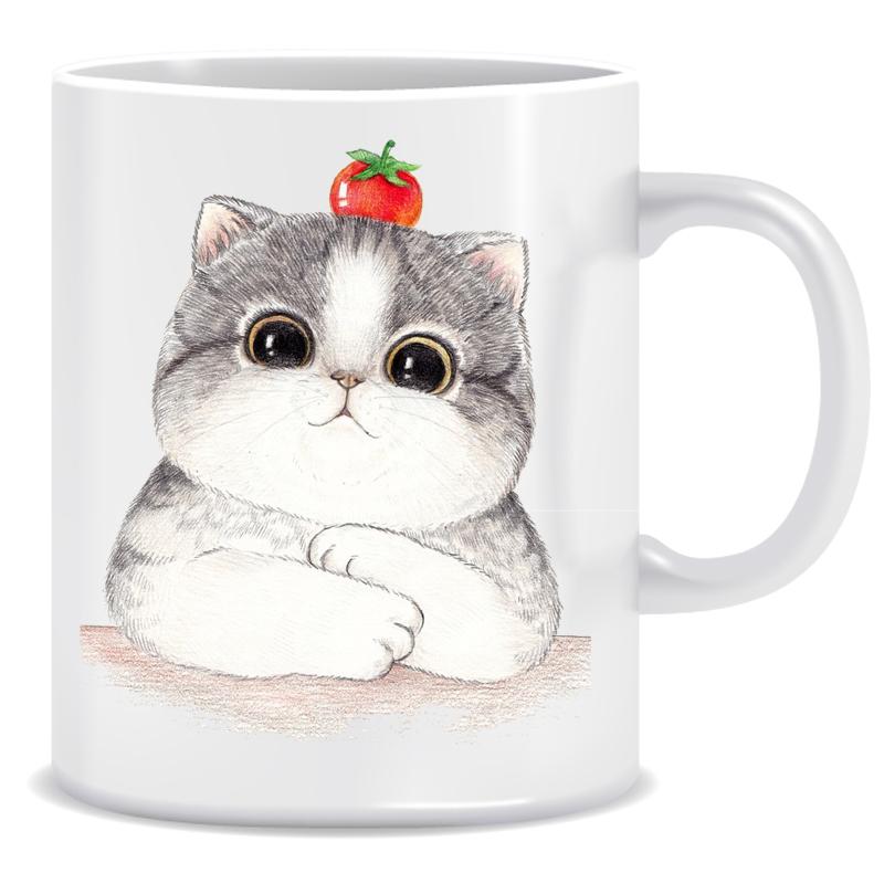 عکس ماگ طرح گربه کد 133