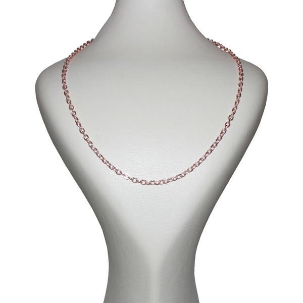 زنجیر زنانه کد R-GLD004-500