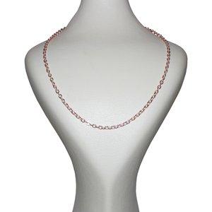 زنجیر زنانه کد R-GLD004-350