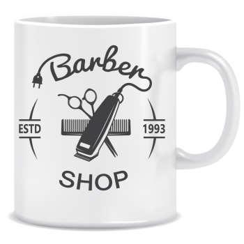 ماگ طرح Barber shop کد 143