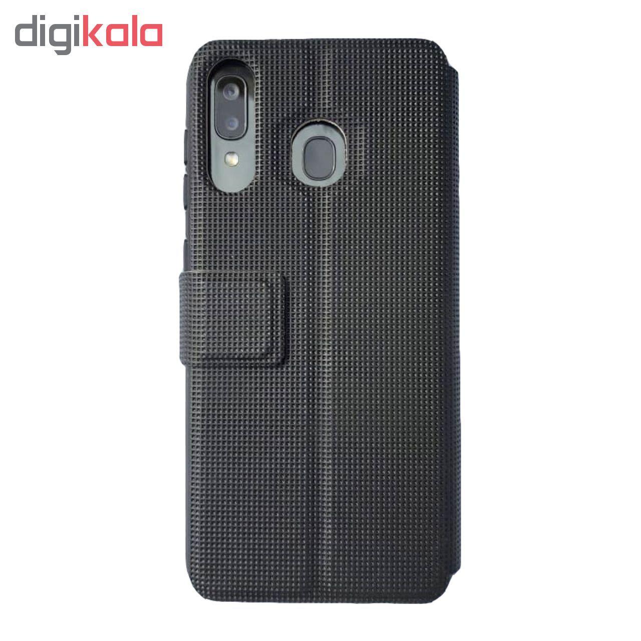 کیف کلاسوری پرند کیس مدل Z11+ مناسب برای گوشی موبایل سامسونگ Galaxy A20