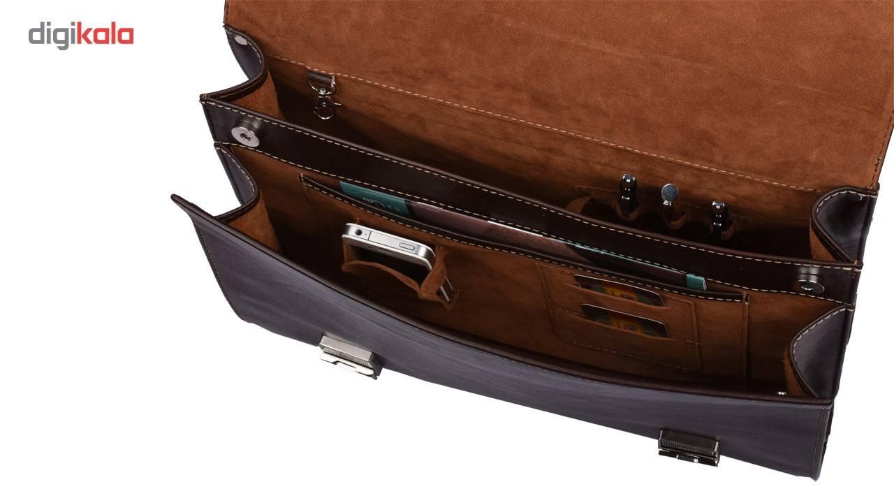 کیف اداری کهن چرم مدل L73-15 main 1 9