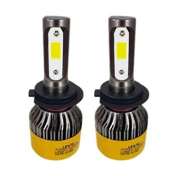 لامپ  ال ای دی  خودرو  لنزو  مدل  S2/H7  بسته 2 عددی