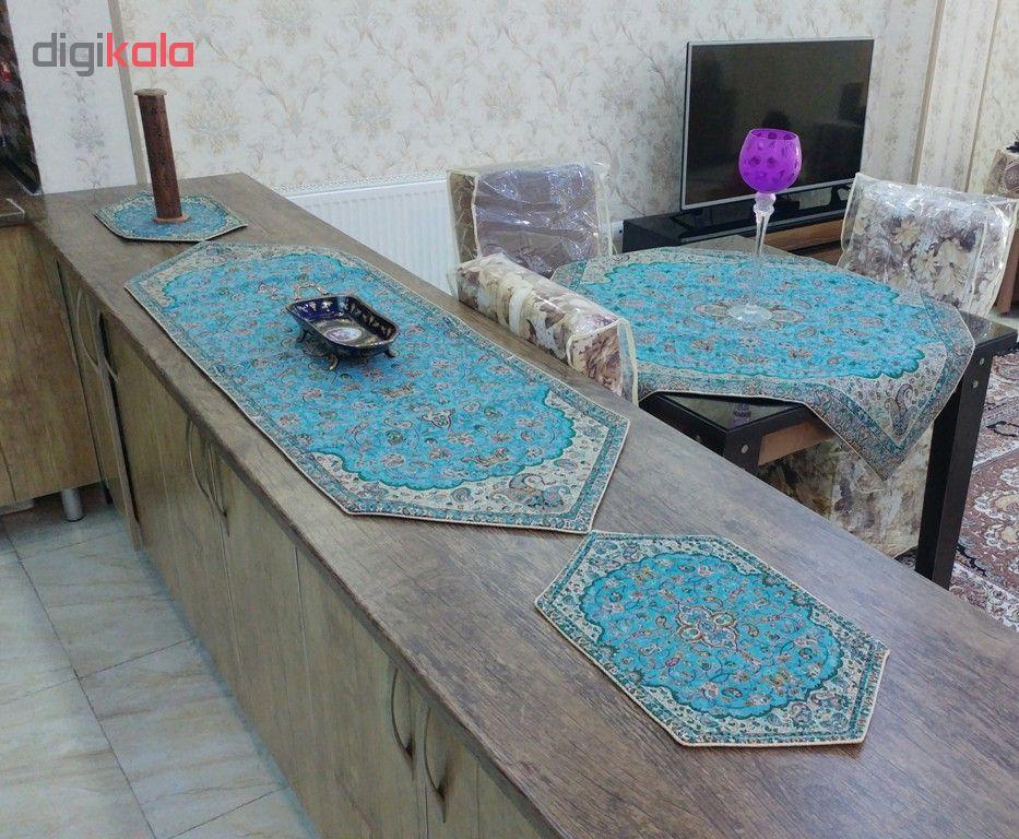 5 PCS Shah Abbasi cashmere tablecloth, code 23