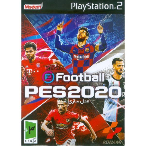 بازی PES 2020 مدل سازی شده مخصوص PS2