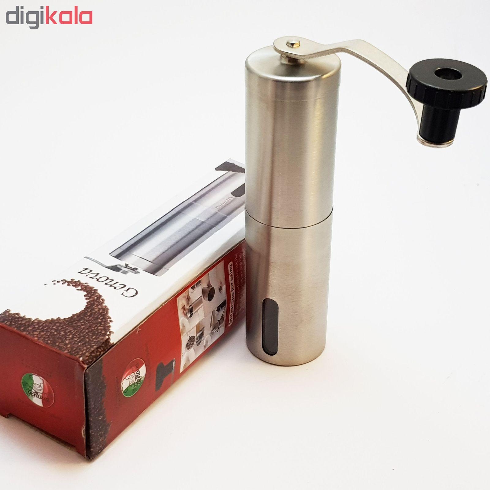 آسیاب قهوه جنوا مدل GAT main 1 12