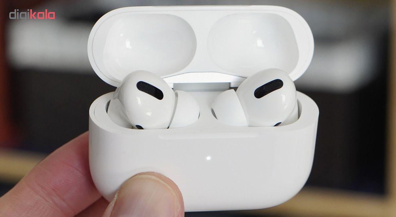 هدفون بی سیم اپل مدل AirPods Pro همراه با محفظه شارژ main 1 2