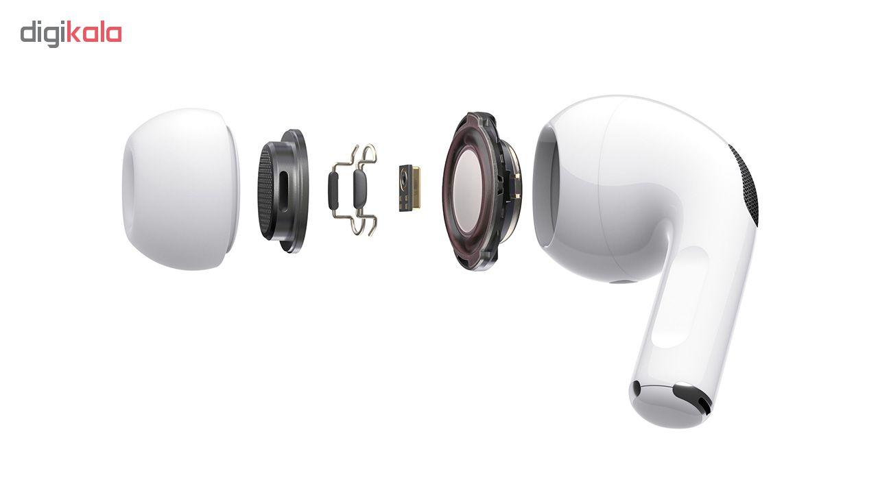 هدفون بی سیم اپل مدل AirPods Pro همراه با محفظه شارژ main 1 3