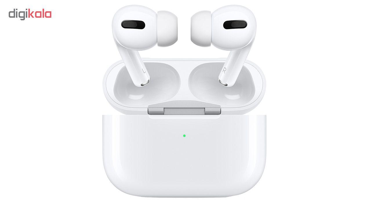 هدفون بی سیم اپل مدل AirPods Pro همراه با محفظه شارژ main 1 9