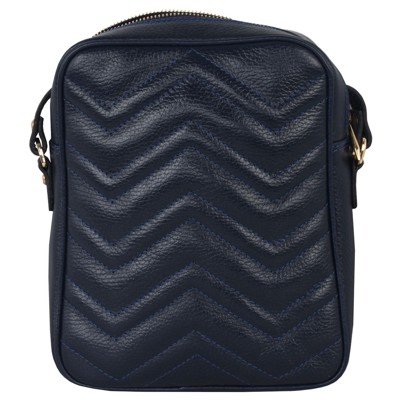 کیف دوشی زنانه کهن چرم کد v184-11