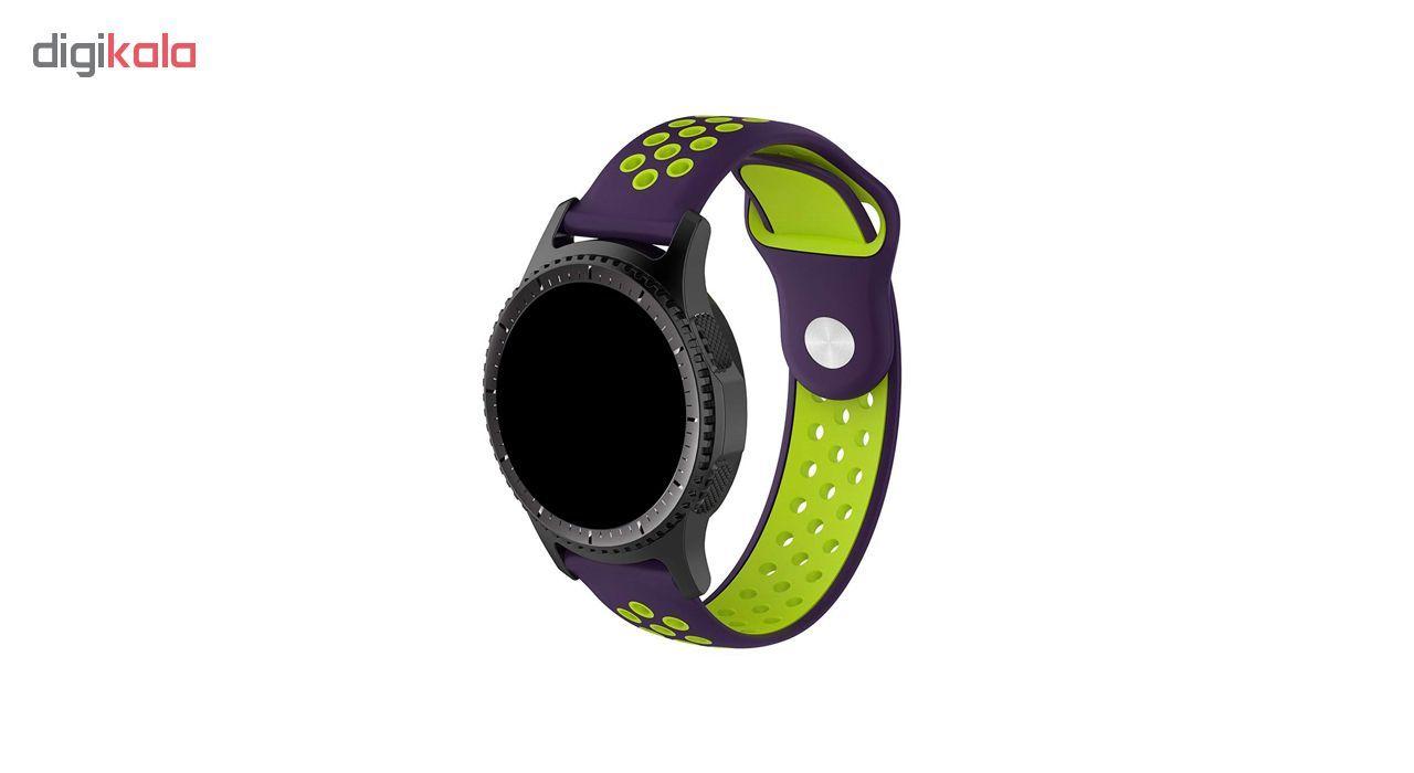 بند کد Ni-03 مناسب برای سامسونگ مدل Galaxy Watch 46mm \ Gear S3 main 1 2