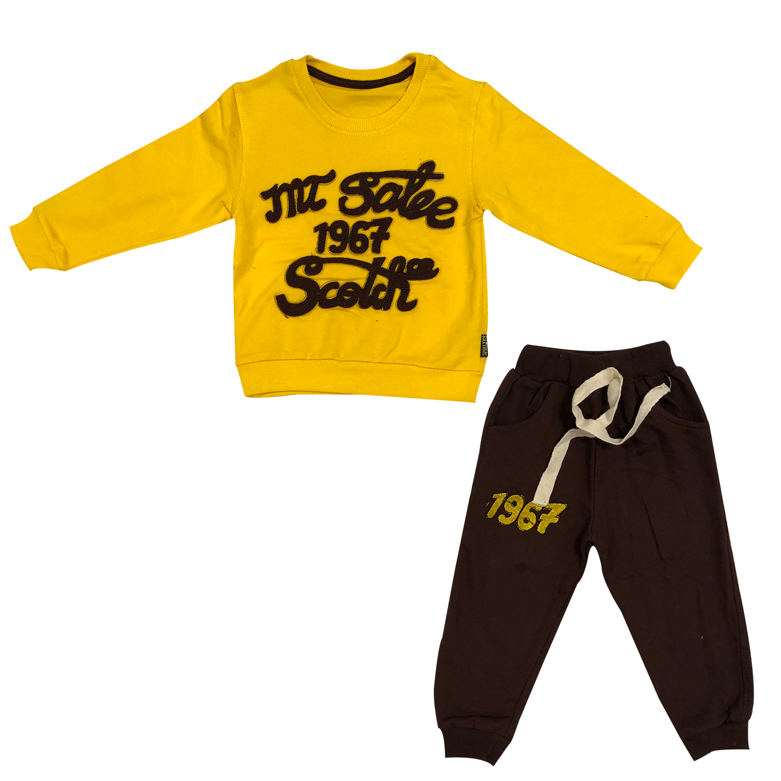 ست تی شرت و شلوار پسرانه کد 19672
