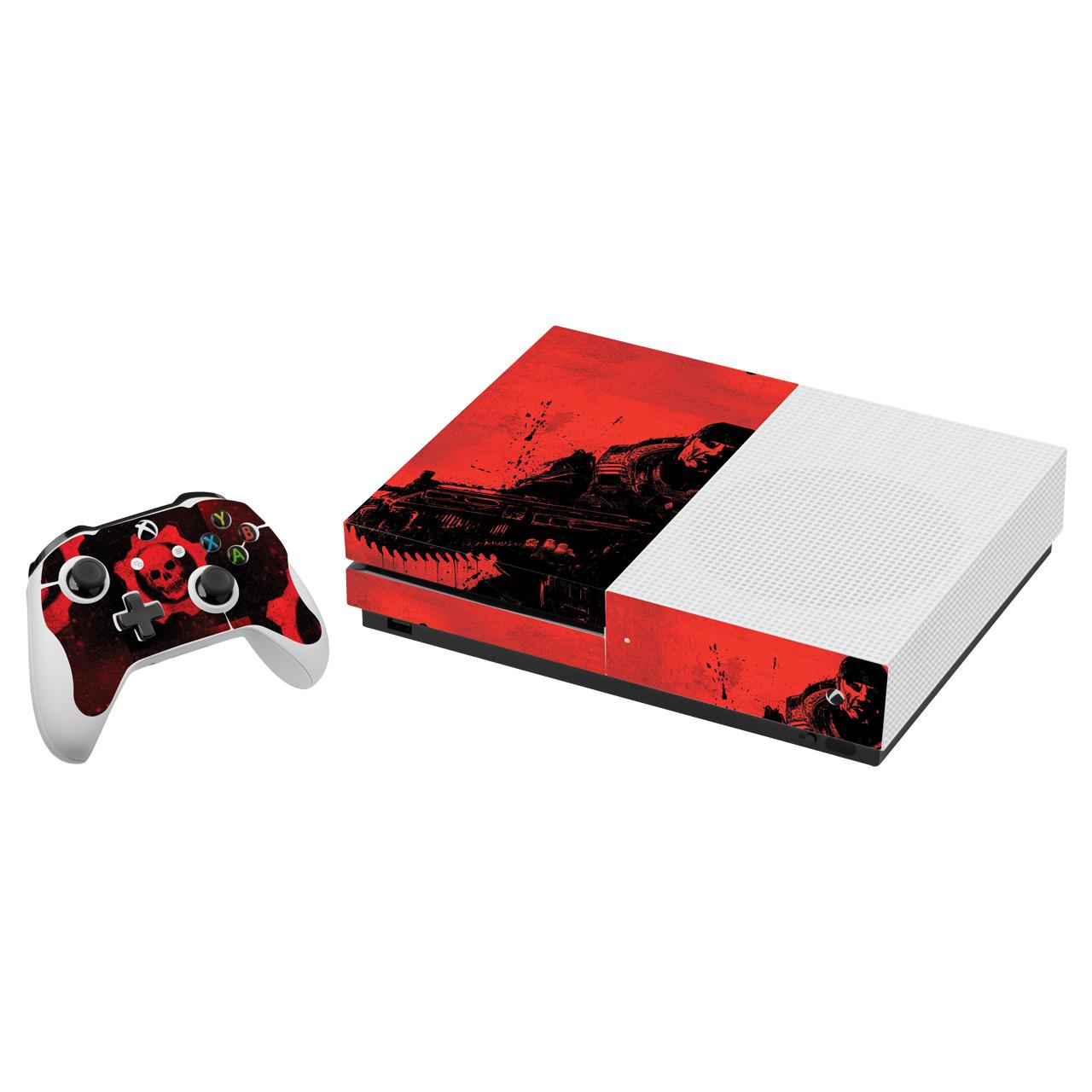برچسب ایکس باکس One S گراسیپا طرح Gears Of War کد ۰۳ بسته ۲ عددی