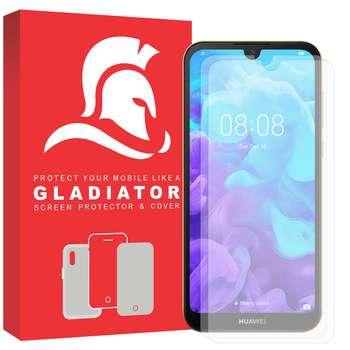 محافظ صفحه نمایش گلادیاتور مدل GLH2000 مناسب برای گوشی موبایل هوآوی Y5 2019 بسته دو عددی
