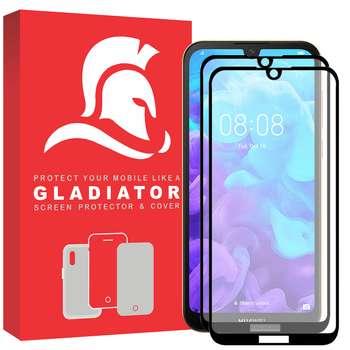 محافظ صفحه نمایش گلادیاتور مدل GPH2000 مناسب برای گوشی موبایل هوآوی Y5 2019 بسته دو عددی