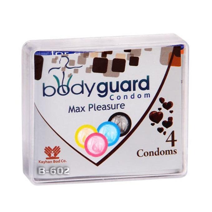 خرید                      کاندوم بادی گارد مدل مکس پلژر بسته 4 عددی