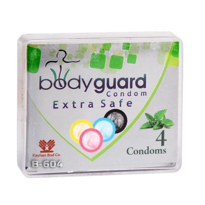 خرید                      کاندوم بادی گارد مدل اکسترا سیف بسته 4 عددی