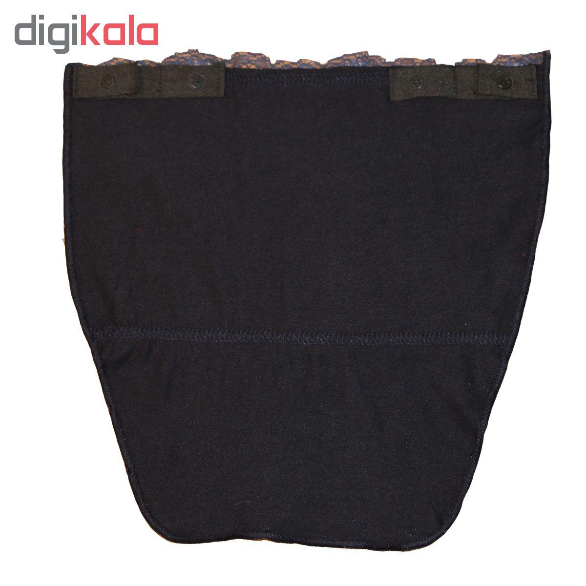 یقه حجاب کد DG017