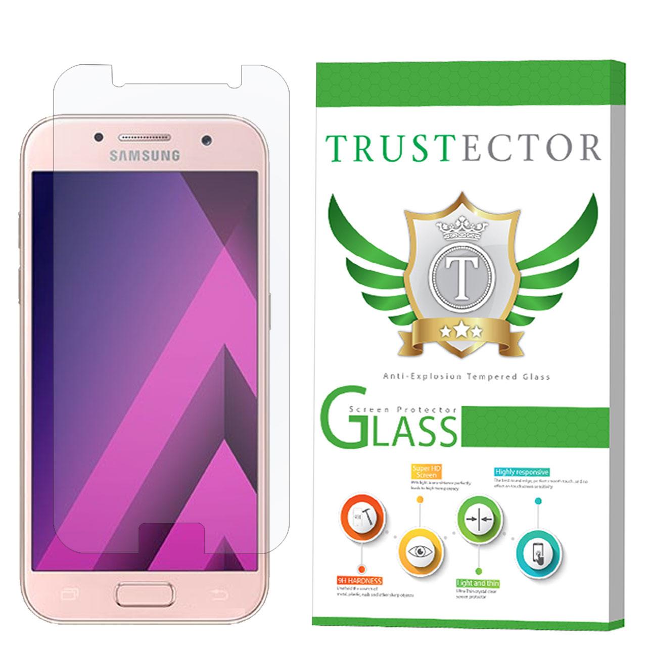 محافظ صفحه نمایش تراستکتور مدل GLS مناسب برای گوشی موبایل سامسونگ Galaxy A3 2017               ( قیمت و خرید)