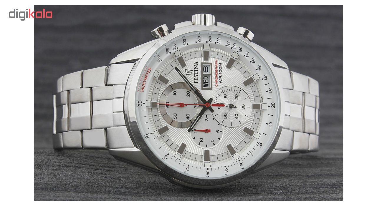 ساعت مچی عقربه ای مردانه فستینا مدل F6844-1