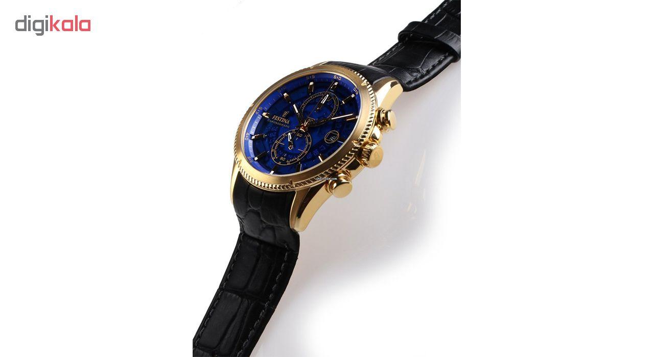 ساعت مچی عقربه ای مردانه فستینا مدل F20270-2
