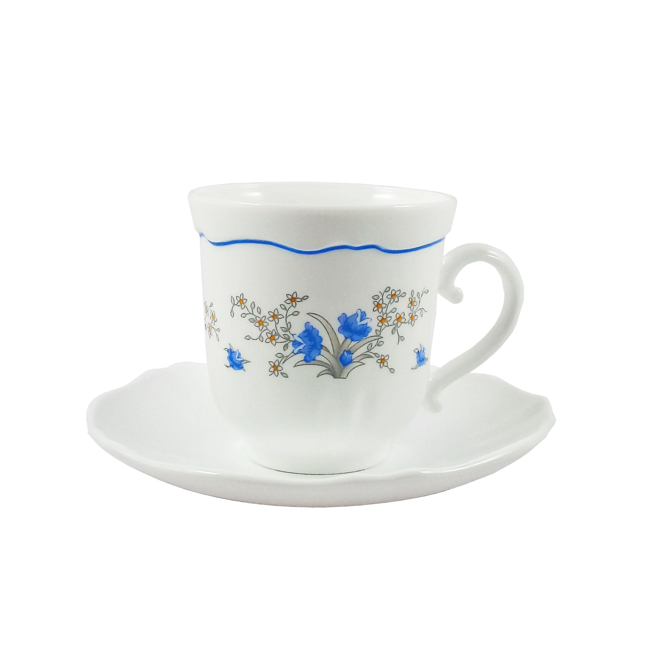 سرویس چای خوری 12 پارچه لومینارک کد E-0248