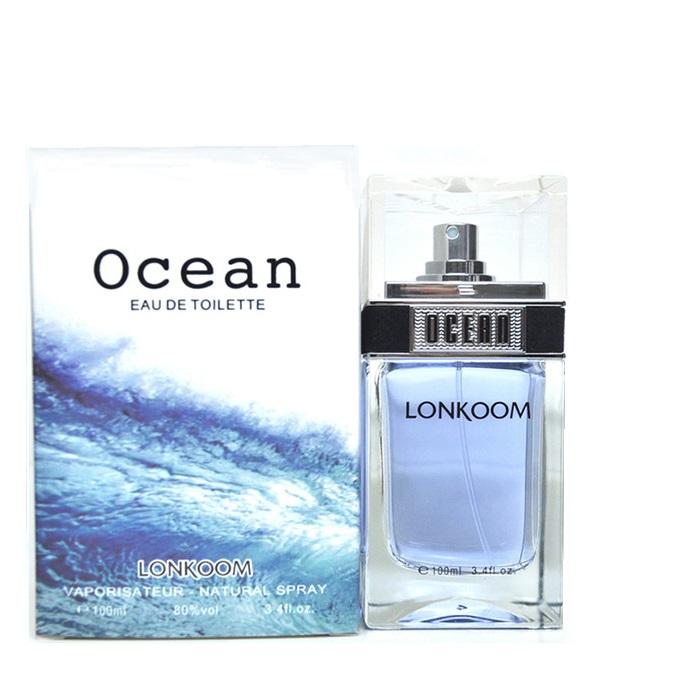 ادو پرفیوم مردانه لنکوم مدل ocean blue حجم 100 میلی لیتر