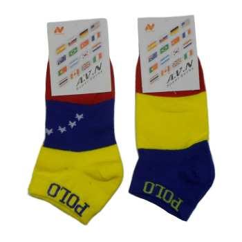 جوراب مردانه طرح پرچم کد TFB مجموعه 2 عددی