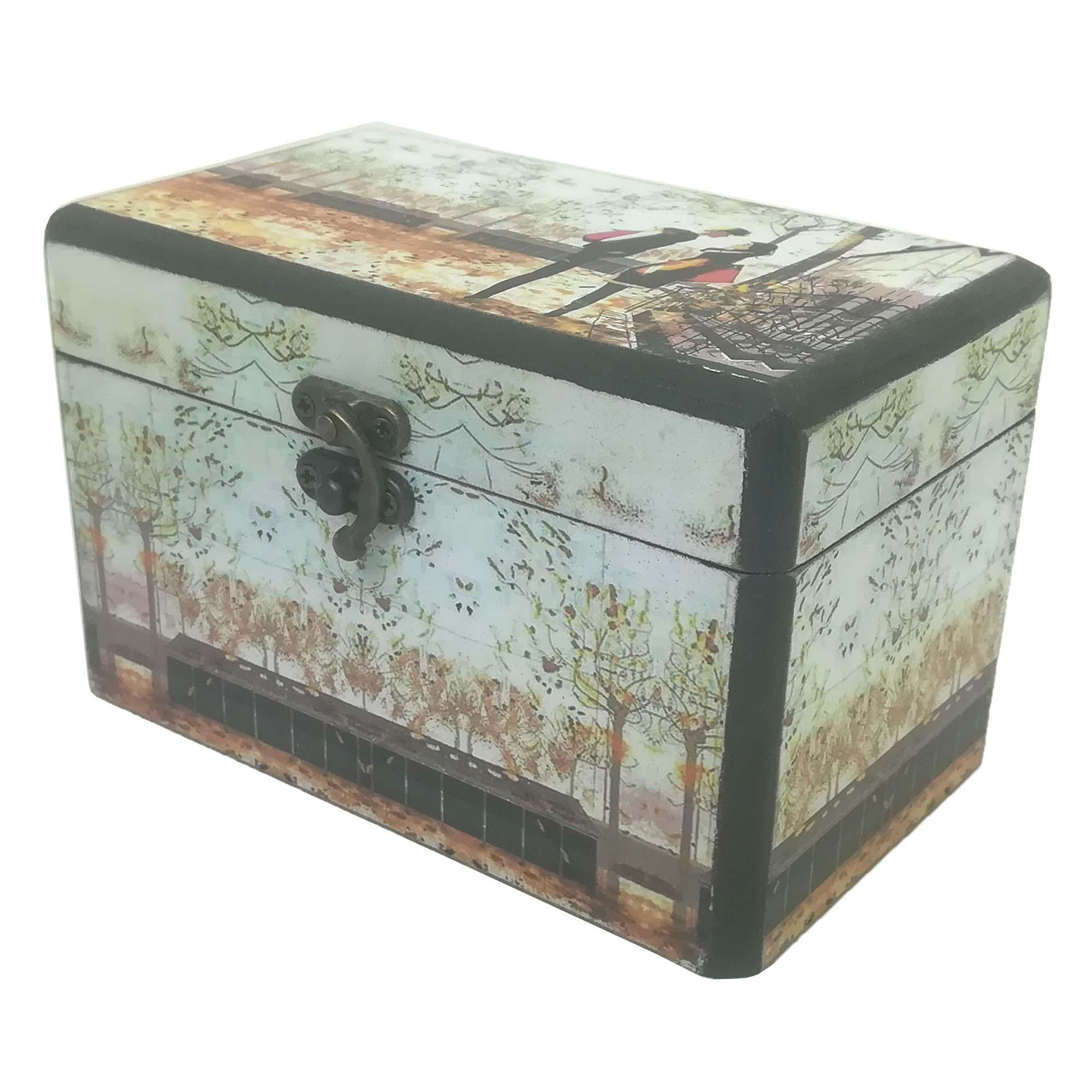 جعبه هدیه طرح عشق پاییزی کد 414