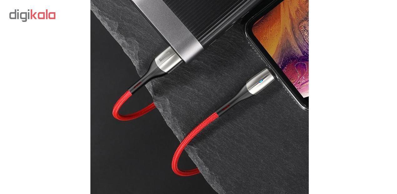 کابل تبدیل USB به لایتنینگ باسئوس مدل CALSP-B طول 1 متر main 1 6