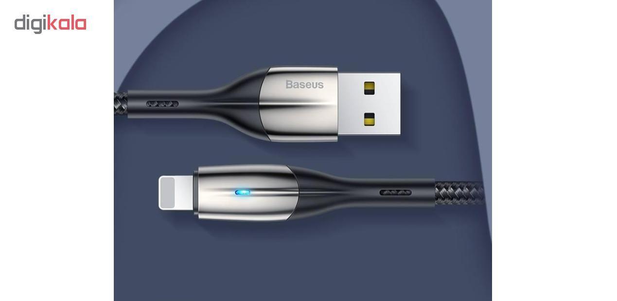 کابل تبدیل USB به لایتنینگ باسئوس مدل CALSP-B طول 1 متر main 1 15