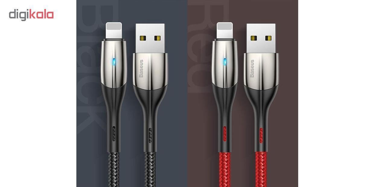کابل تبدیل USB به لایتنینگ باسئوس مدل CALSP-B طول 1 متر main 1 2