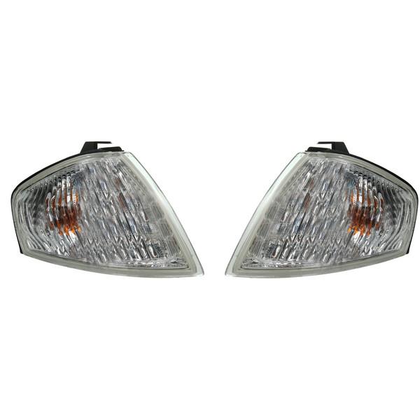 چراغ راهنما گلگیر خودرو مدل 216-1544L-AE مناسب برای مزدا 323 GLX بسته دو عددی