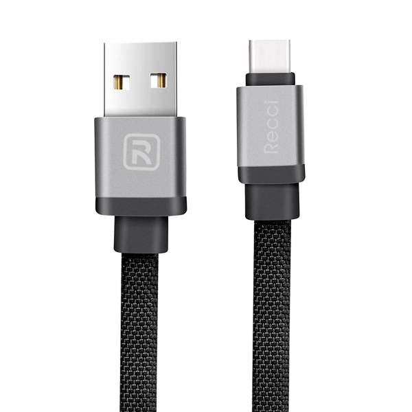کابل تبدیل USB به USB-C رسی مدل RCT-Y100 طول 1 متر