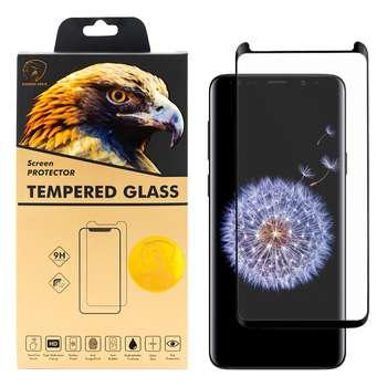 محافظ صفحه نمایش گلدن ایگل مدل DFC-X1 مناسب برای گوشی موبایل سامسونگ Galaxy S9 Plus