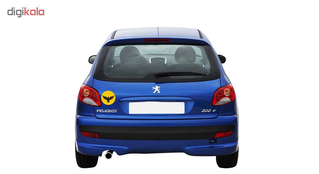 برچسب بدنه خودرو گراسیپا طرح عقاب مدل ۰۱ main 1 2