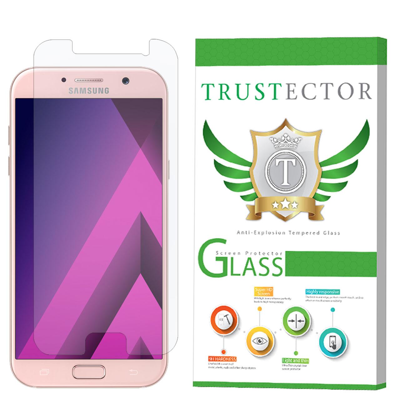 محافظ صفحه نمایش تراستکتور مدل GLS مناسب برای گوشی موبایل سامسونگ Galaxy A7 2017               ( قیمت و خرید)