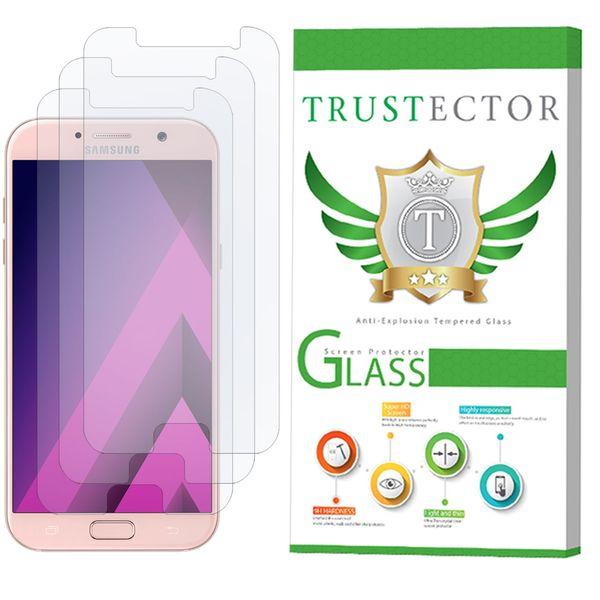 محافظ صفحه نمایش تراستکتور مدل GLS مناسب برای گوشی موبایل سامسونگ Galaxy A7 2017 بسته 3 عددی