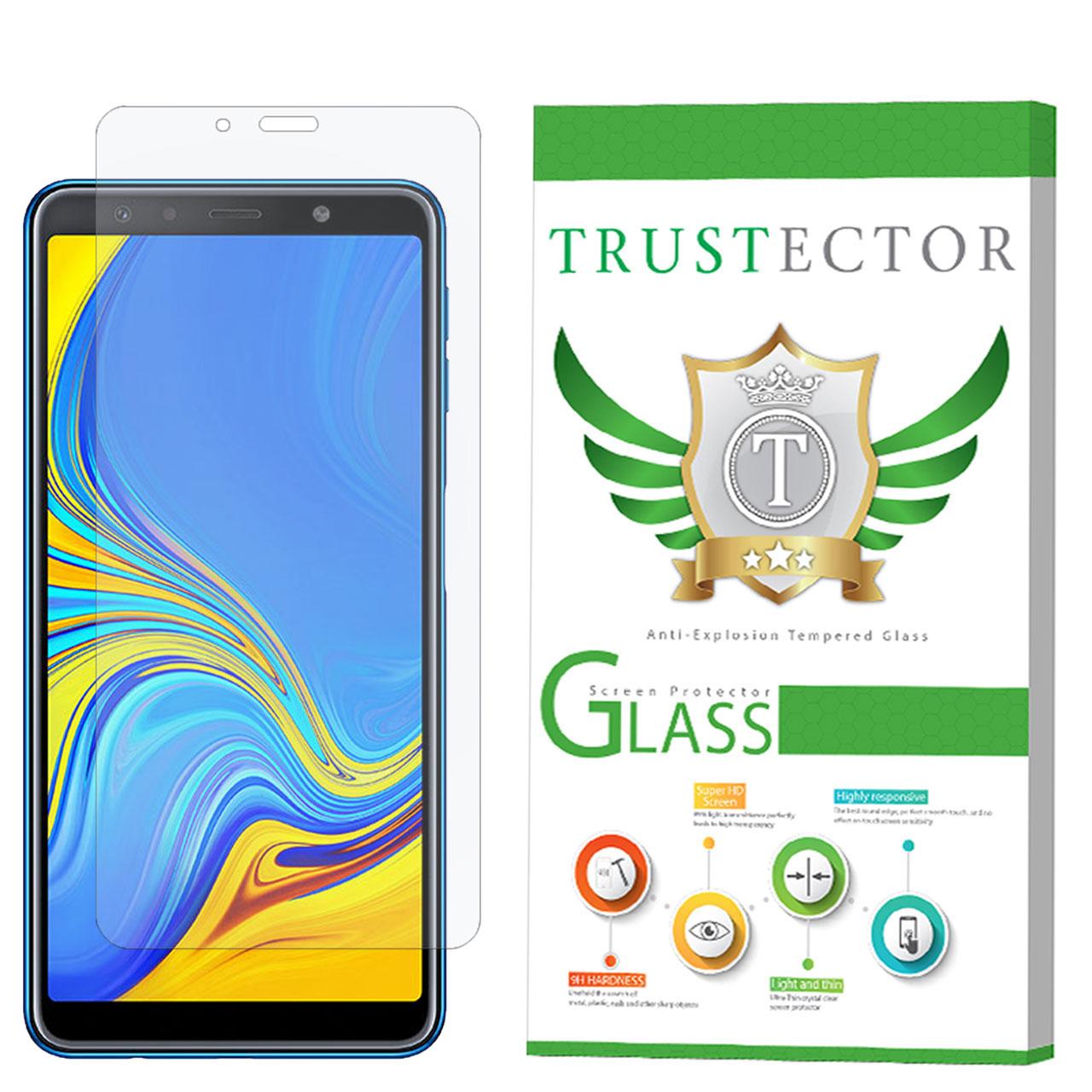 محافظ صفحه نمایش تراستکتور مدل GLS مناسب برای گوشی موبایل سامسونگ Galaxy A7 2018               ( قیمت و خرید)