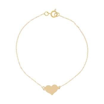 دستبند طلا 18 عیار زنانه میو گلد مدل BC72