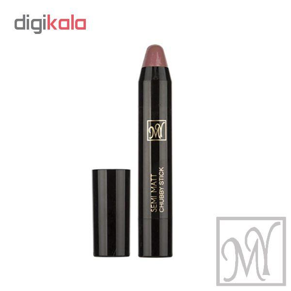 رژ لب مدادی مای مدل SEMI MATT سری Black Diomond شماره 12