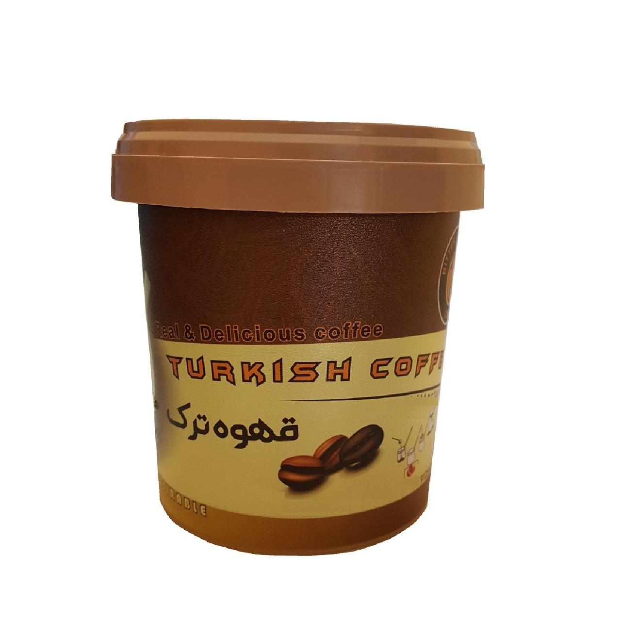قهوه ترک طعم تلخ کد 500071 مقدار 175 گرم