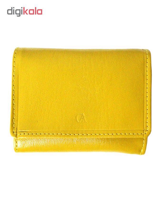 کیف پول چرم آرا کد n015-1