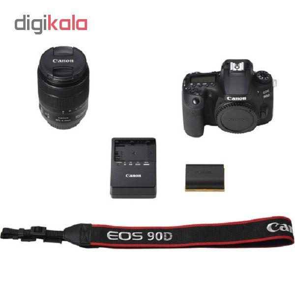 دوربین دیجیتال کانن مدل EOS 90D به همراه لنز 135-18 میلی متر IS USM