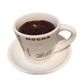 شمع طرح فنجان قهوه