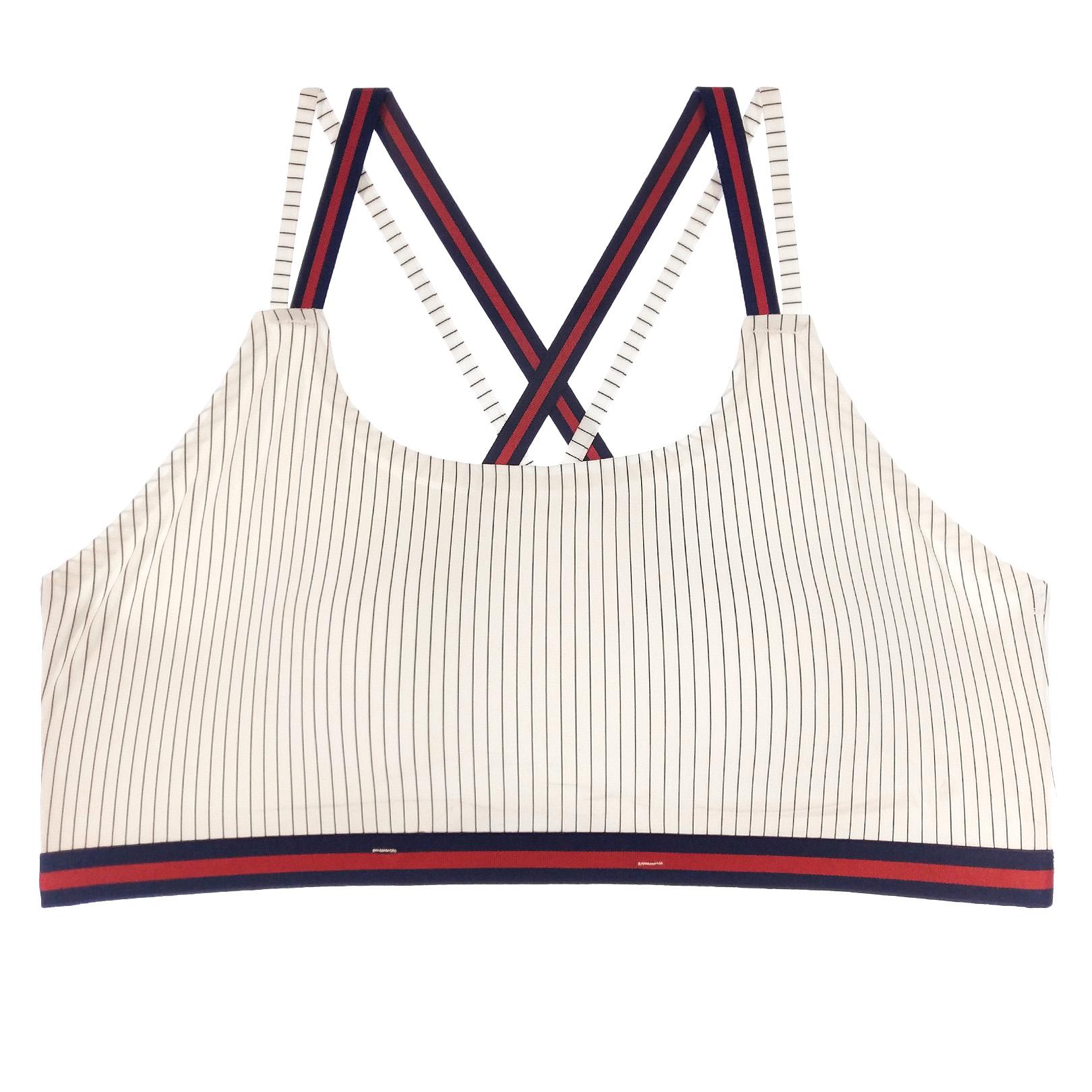 نیم تنه ورزشی زنانه کد SPC01-2 رنگ سفید