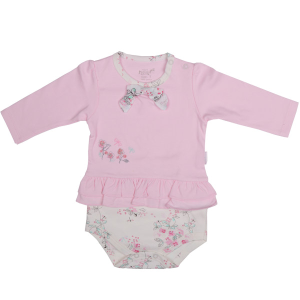 بادی نوزادی نیلی مدل لیانا کد 08018