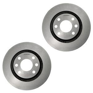 دیسک ترمز چرخ جلو شرکت تولیدی قطعات جلوبندی خودرو ایران لاهیجان کد 01 مناسب برای پژو 405 بسته دو عددی